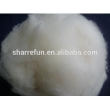 100% Pure lana de cordero chino natural blanco con precio al por mayor