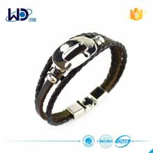 Bracelet cuir en cuir tressé 2015