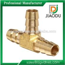 1/2 1/4 3/8 Brass Barb Tee Raccords de tuyaux de tuyau