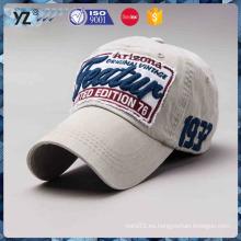 Casquillo de béisbol personalizado del bordado del precio razonable de cuatro estaciones