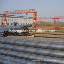 ASTM A134 / ASME SA134 EFW Stahlrohre mit gerader Naht