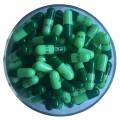 material de embalaje coloridas cápsulas de gelatina dura vacías