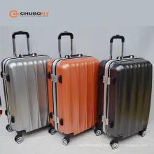 Chubont High Quality Auminum Frame Tsa Lock 8 Wheels PC+ABS Suitcases