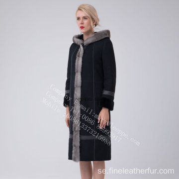 Australien Merino Shearling Coat For Lady