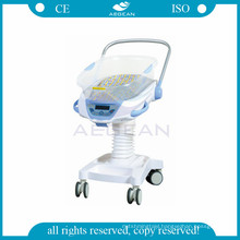 AG-CB021 with weighing and music function hospital adjustable infant cot bed