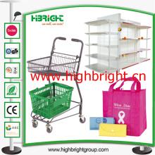 Design de acessórios de loja de varejo e montagem de loja