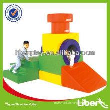 Indoor Eco-friendly Kleinkind Schaum Klettern Spielzeug, Schwamm Spielzeug Kinder Soft Play für Party mieten LE.RT.006 Zug Tunnel Qualität Assured