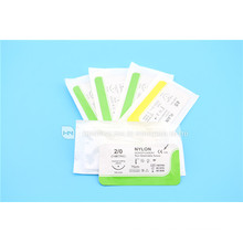 surgical Suture Nylon material 75cmReverse Cutting 16mm