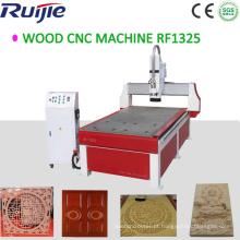 Preço da máquina para trabalhar madeira do roteador CNC na China (RJ1325)