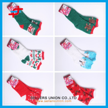 New year Christmas socks cozy mircofiber home towel socks