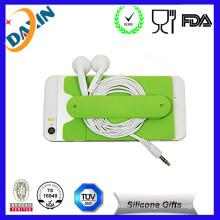 New Cute Design Soft Flexible Silicone Gel Horn Speaker Loudspeaker
