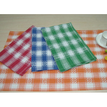 (BC-KT1013) Cleaning Towel Stripe Grid Fashion Design Kitchen Towel