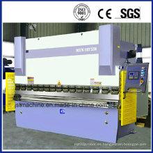 100ton de la hoja de metal Nc prensa hidráulica freno (WC67K-100T 3200)