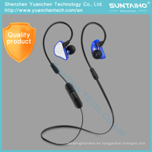 Auriculares inalámbricos Bluetooth de la cancelación de ruido de la música Auriculares inalámbricos de Bluetooth del deporte