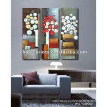 Modern Flower Handmade Oil Painting Nuevos productos calientes para 2015