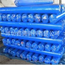 Lona de PE en rollo PE lona azul para la prenda impermeable de la tienda