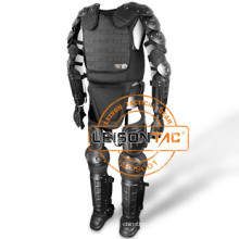 Anti Riot костюм с НАТО NIJ III и ISO стандарт огнезащитного EN и удар доказательство