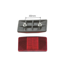Safety Plastic Bicycle Rear Reflector for Bike (HRF-007)