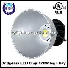 Luz elevada da baía conduzida fábrica 23000 lúmen, industrial 240w conduziu luzes elevadas da baía