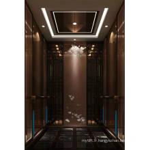 Miroir de levage pour ascenseur de passager gravé Mr & Mrl Aksen Ty-K240