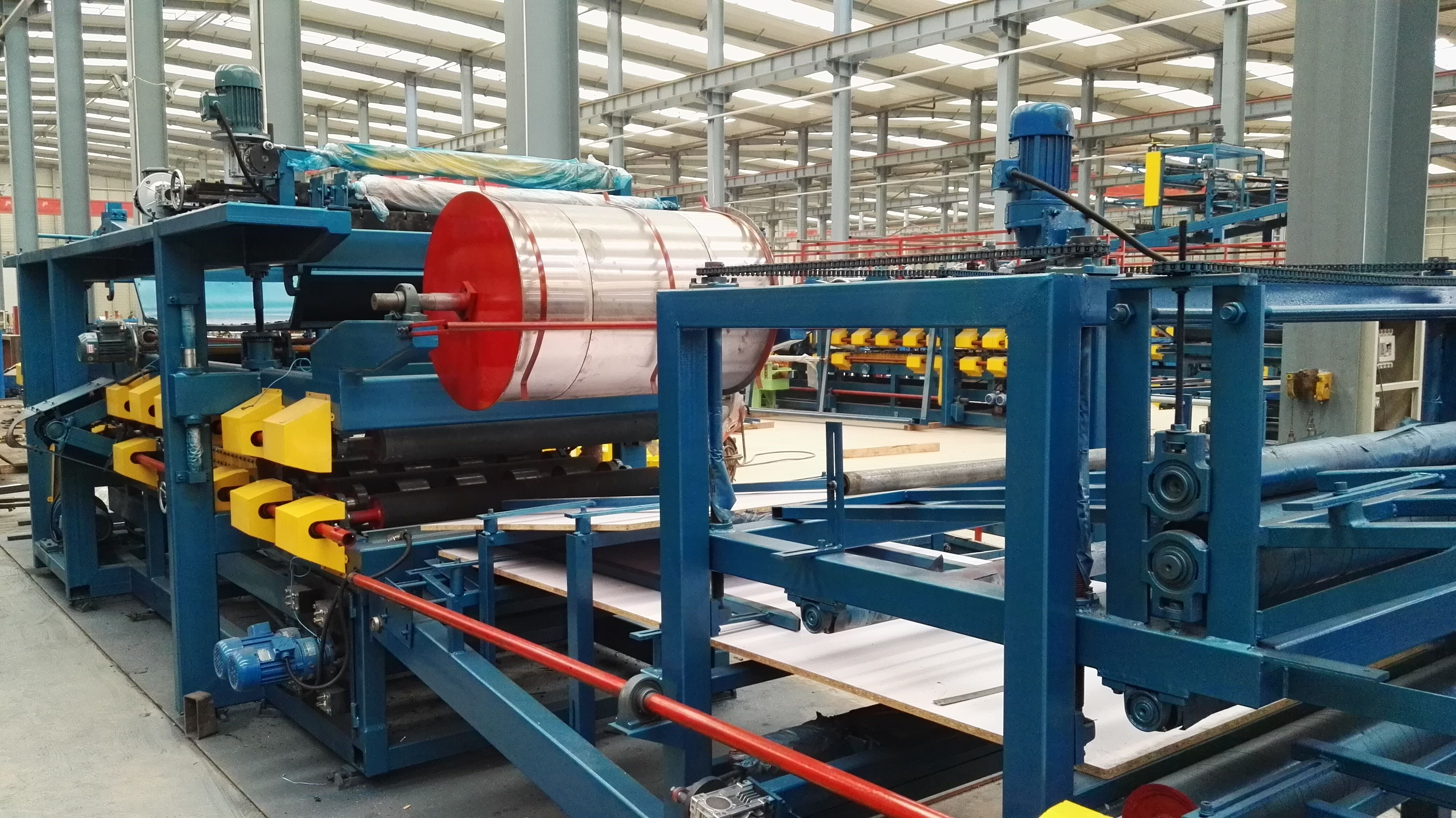 EPS sandwich panel production line