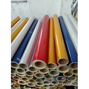 Ink-jet printing reflective sheeting