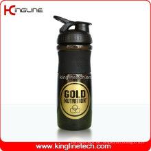 750ml Plastic Blender Shaker Flasche mit Edelstahl Mixer Mixer Ball (KL-7063)
