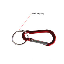 Climbing Carabiner Hook with Zinc Alloy Die Cast Swivel Snap Hook Easy to Portable