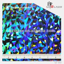 Hologramm Meister schießen für Silber Verpackung Film-YXCP - 002
