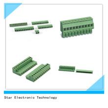PA66 5,08 Mm Pitch 11 Pole PCB Schraubklemmenblock Steckverbinder Pluggable Typ