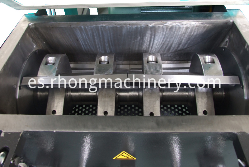 RG-2880 plastic sheet crusher blades