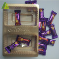 Two Compartments Plastic Candy Packing Tray