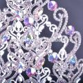 """Wunderschöne 30 """"große große Schönheitswettbewerbkrone mit abkristallfarbenen Kronen"""
