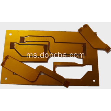 Emersi Emas 4 Layer Flex Tegar PCB