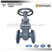GOST flanged oil water gas pipe fitting cast steel cuniform stem gate valve company