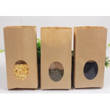 Custom Paper Flaxseed Packaging Bag