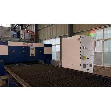 Colector de polvo con cortador de plasma láser integrado central