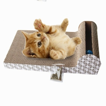 Cat scratching sofa toys with ball