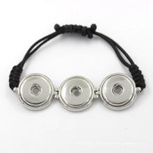Botão de Snap ajustável de moda colorido para pulseira e bracelete