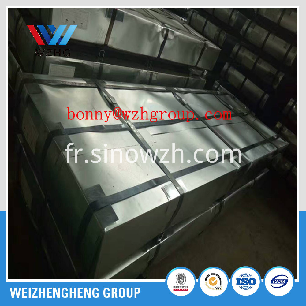 gi steel sheet