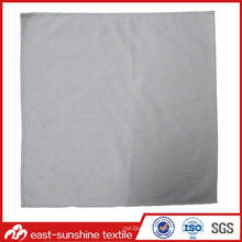 Embossed Logo Printing Microfiber Lens Cloth with Sewn Edge