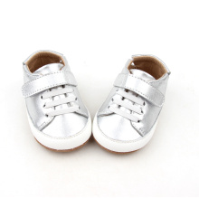 Sliver Color Baby Soft Sole Causal Shoes