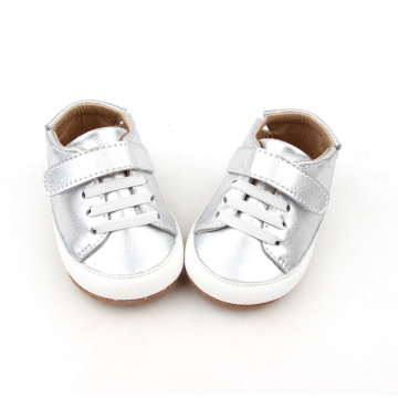 Sliver Color Baby Soft Sole Causale Schoenen