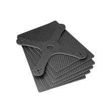 Folha de fibra de carbono do roteador de corte cnc para hobby