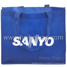 Custom não tecido saco para compras e promoção