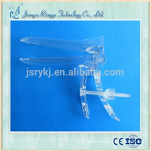Disposable vaginal speculum center screw type