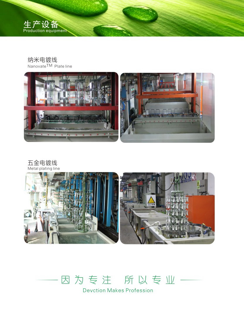 Electroplating Chrome Processing