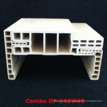 Leicht installierte und einstellbare WPC Tür Framewpc Architrave Df-140W45