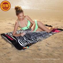 microfiber printed beach/sport/camping towel