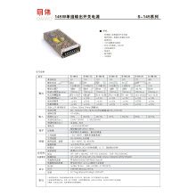 Wxe-145 Series Schaltnetzteil